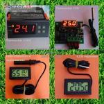 Digitalny termostat, LCD vlhkomer, teplomer liahen