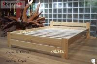 Nová postel z masivu i s roštem od výrobce 180x