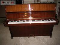 Piano Petrof, záruka 5 rokov