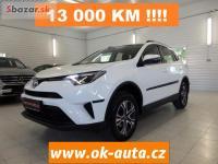 Toyota RAV4 2.0i NOVÉ ČR 13 000 KM ZÁRUKA 2016-
