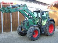 Traktor FEND.T 4c12c vario +celní nakladac