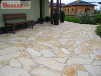Chorvátsky Vápenec - prírodný obkladový kame�