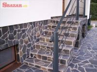 Andezit šedý - prírodný obkladový kameň / dl 242669