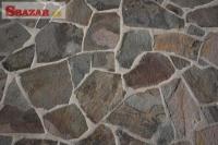 Andezit šedý - prírodný obkladový kameň / dl 242670