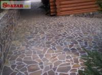 Gneis / Rula prírodný kameň na obklad / dlažbu