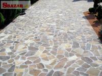 Gneis / Rula prírodný kameň na obklad / dlažbu 242679
