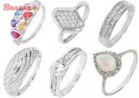 Prstene z bieleho zlata od KORAI 242856