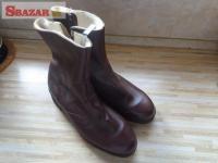 dôstojnícké zimné členkové topánky (čižmy 243264
