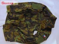 Maskáčové kalhoty a blůza vzor 95 AČR Zelené