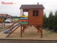 Krásne kvalitné nové detské ihrisko preliezač 244956