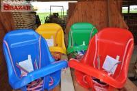 Krásne kvalitné nové detské ihrisko preliezač 244958