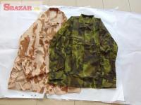 Různé vojenské oblečení - ARMÁDA ČR 245178