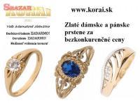 Prstene zo žltého zlata od KORAI