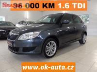 Škoda Fabia 1.6 TDI ALU KLIMA 36 000 KM 2015 -DPH