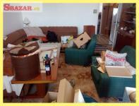 odvoz skríň, posteli, ťažkých bremien