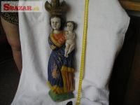 Madona s Ježíškem (Příbramská)
