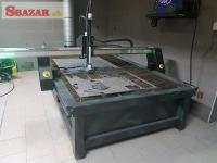 CNC Plazma ploter s 4D rotačnou osou