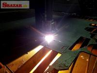 CNC Plazma ploter s 4D rotačnou osou aj pre trubk