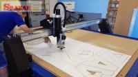 3D CNC Frezka s vákuovým držaním materiálu 248643