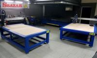 3D CNC Frezka s vákuovým držaním materiálu 248645