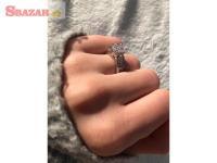RUSSO Strieborný prsteň so zirkónom
