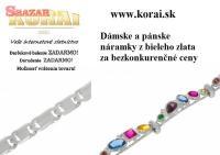 Náramky z bieleho zlata KORAI 252124