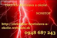 Poruchová služba elektrikár Bratislava a okolie