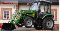 Traktor CHERY s kabinou a čelním nakladačem