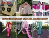 Drevený záhradný nábytok, detské domy - výro 255894