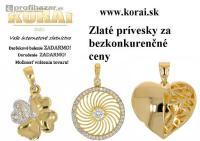 Náušnice z bieleho zlata KORAI