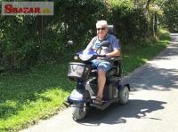 Elektrické skútry pro seniory a ZTP - Zlín