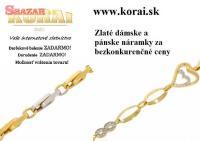 Zlaté náramky od KORAI
