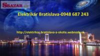 elektroinštalatér -Bratislava nonstop