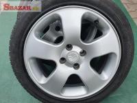 alu kola elektrony Mazda 4x100 6.5jx16 et40 pneu m