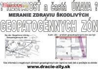 Geopatogénne Zóny - Meranie - celé Slovensko 258602