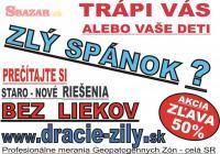 Geopatogénne Zóny - Meranie - celé Slovensko 258603