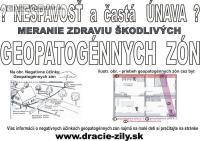 BÝVAJTE ZDRAVŠIE - Meranie Geopatogénnych Zón 258605