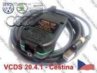 2020 VCDS VAG-COM HEX-V2 20.4.1 Česká HEX-CAN OB