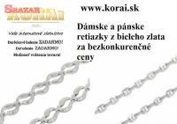 Retiazky z bieleho zlata KORAI 259172
