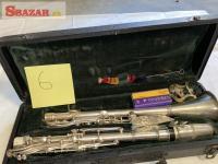 B-klarinet Kovovy strieborny paris (rozoberatelny)