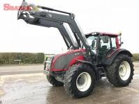 2012 Traktor Valt.ra T1c9c1 & Q76 nakladač