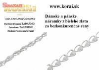 Náramky z bieleho zlata KORAI 260460