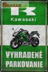 Kawasaki - vyhradené parkovanie