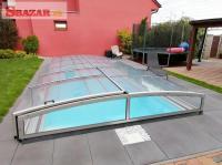 Moderní hranaté zastrešenie na bazén 261646