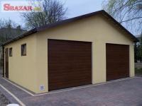 Omítnutá montovaná garáž - celá SR 261879