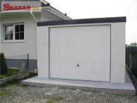 Omítnutá montovaná garáž - celá SR 261881