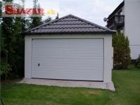 Omítnutá montovaná garáž - celá SR 261882