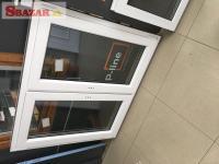 Na predaj nové biele plastové okno 1250 x 1100 262455