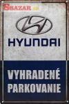 Vyhradené parkovanie -HYUNDAI