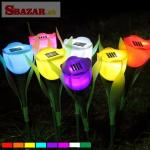 Solárne LED svetlo tulipán
